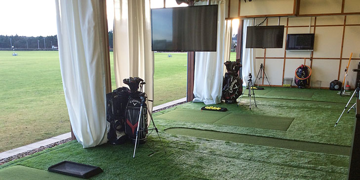Huxley Golf introduces three new teaching bays at St Andrews Links