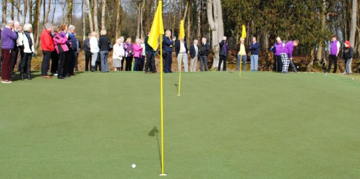 Huxley Golf develops new all-weather short game area at Brokenhurst Manor