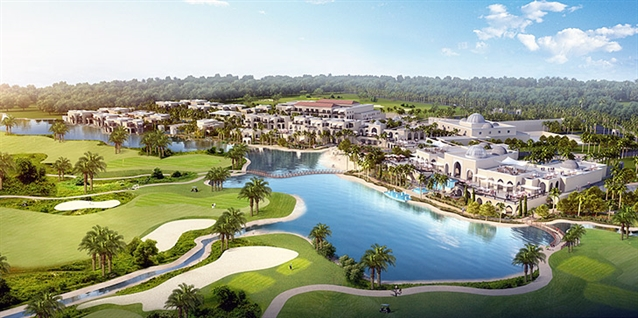 Construction of Trump World Golf Club in Dubai gets underway