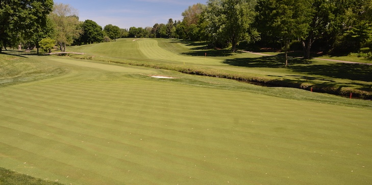 Doak and Andrew-led greens restoration reopens at St George's