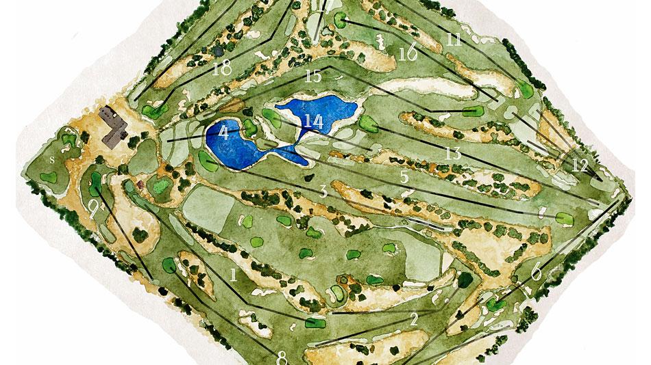 Santa Ana Golf Club Arcadia California Golf Course