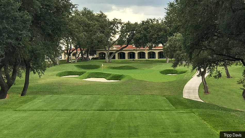 Renovation Of Oak Hills Country Club Course Close To