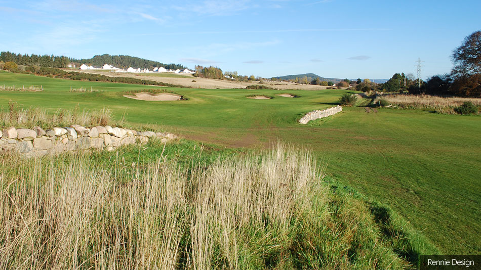 Construction nears completion of new King's course for Torvean