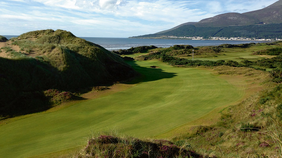 Martin Ebert Helps Bridge The Gap At Royal County Down