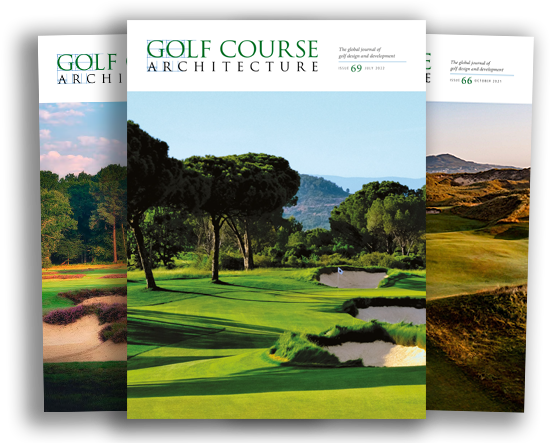 Subscribe to the print edition of Golf Course Architecture