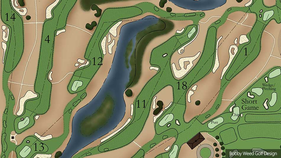 Lovely Golf Course