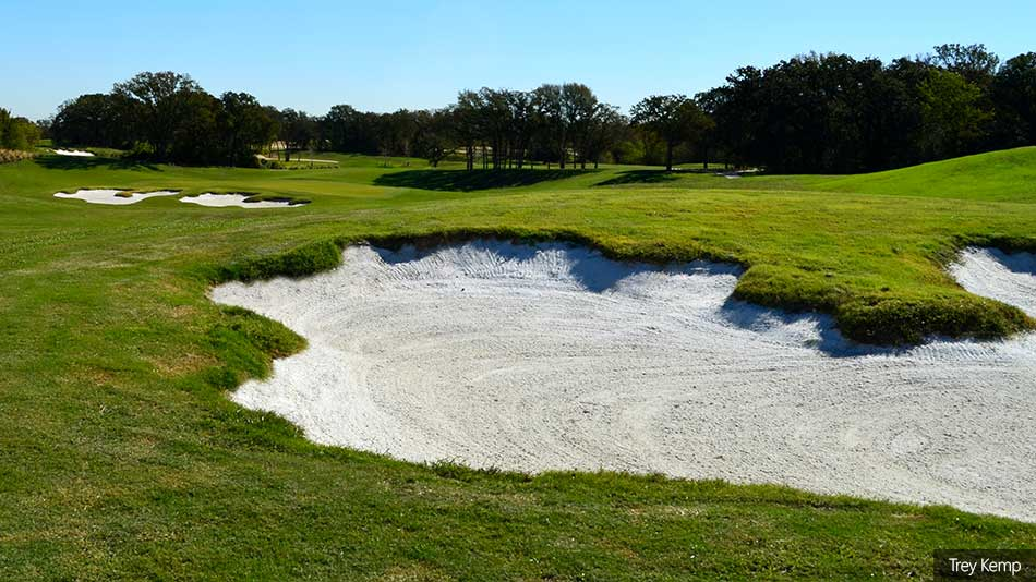 The renovated Chester W. Ditto course is now growing in
