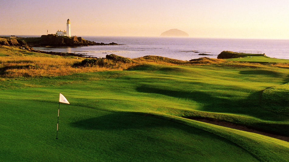 Turnberry's Ailsa course was rebuilt after being used as an airfield during the war