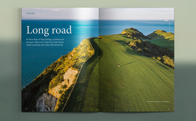 Advertising in the print edition of Golf Course Architecture
